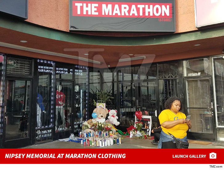 Nipsey Hussle's Funeral Procession Will Pass By His Marathon Clothing Store 6
