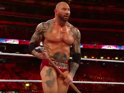 WWE's Dave Bautista Retires After WrestleMania