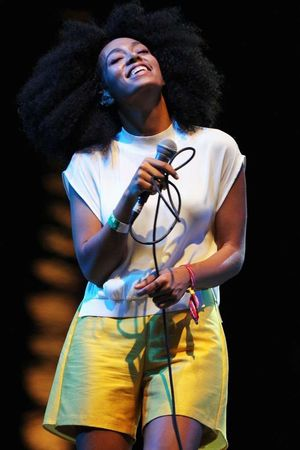 Solange Knowles Performance Photos