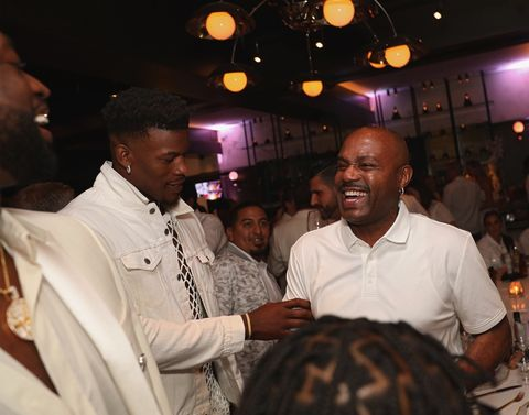 Jimmy Butler and Tim Hardaway