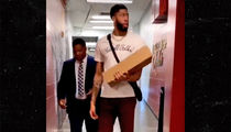 Anthony Davis Says 'That's All, Folks' Shirt Was Not a Shot at Pelicans