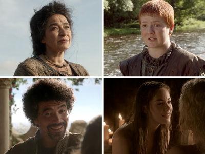 'Game Of Thrones' Cast -- 'Memba Them?!