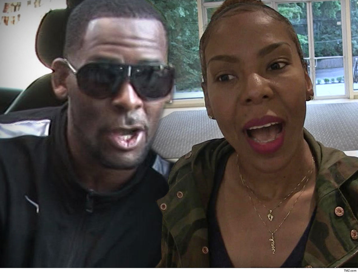 3978bd0889 R. Kelly going to a club for an hour and walking away with  22k cash might  have lots of people upset -- but his ex-wife sure ain t one of them ...  quite the ...