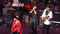Bruce Willis Plays Harmonica, Sings During Jazz Show in Harlem