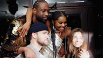 Dwyane Wade Parties with Justin Timberlake After Final NBA Game