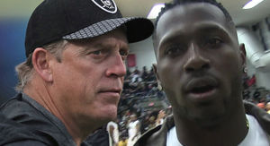 Antonio Brown 'Going To Be A Pain In The Ass' In Oakland, Says Jack Del Rio