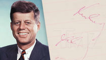 JFK's Last Autograph 2 Hours Before Assassination Hits Auction Block