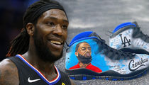 NBA's Montrezl Harrell Will Rock Nipsey Hussle Shoes in Playoffs