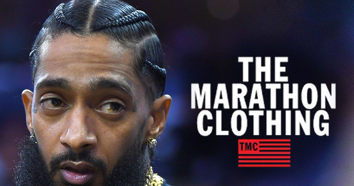 5f7ca873bbed38 Nipsey Hussle s The Marathon Selling Out After Celebs Step Up