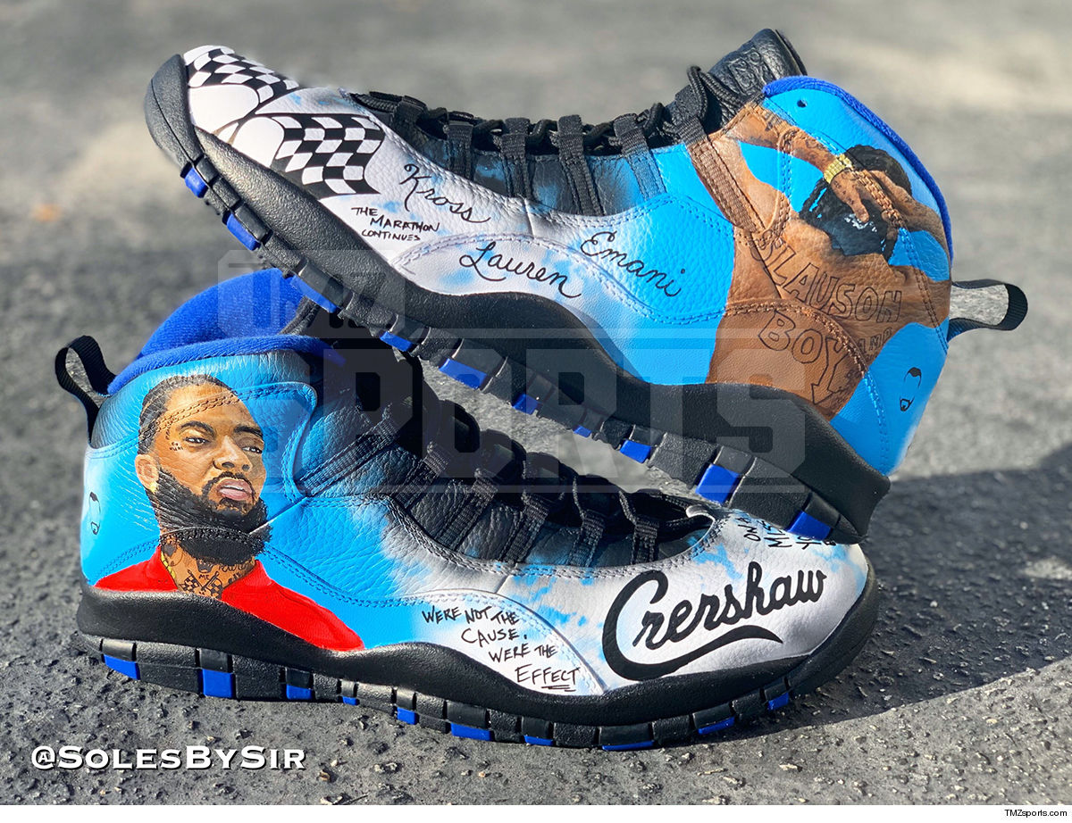 NBA's Montrezl Harrell Will Rock Nipsey Hussle Shoes in Playoffs 5