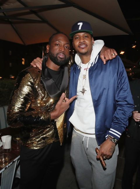 Dwyane Wade and Carmelo Anthony