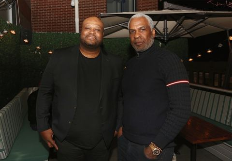 Antoine Walker and Charles Oakley