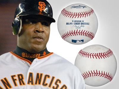 Barry Bonds' Home Run Record Ball Hits Auction Block, Could Fetch $750K!