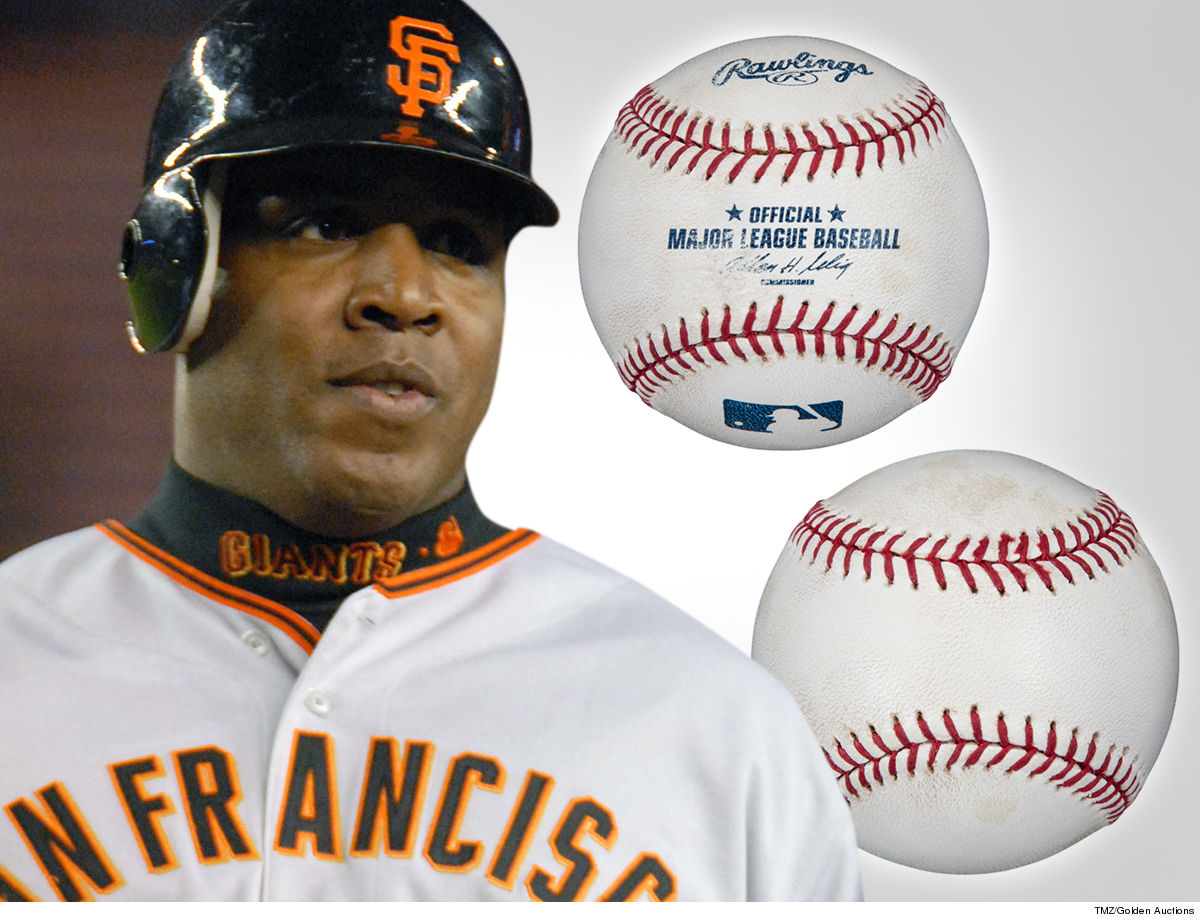 90a351279c9 The baseball Barry Bonds smacked for his last-ever home run is hitting the  auction block ... and it could fetch  750