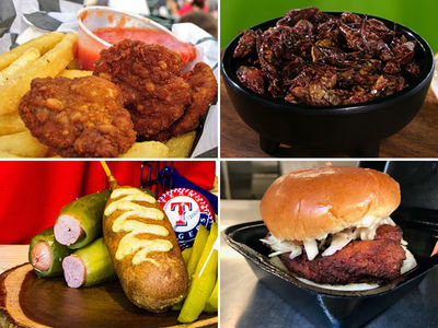 MLB Foodfest, Pig Out On Bull Testicles & Fat Roosters!