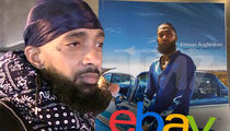 Nipsey Hussle's Free Memorial Programs Selling on eBay for Big Money