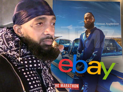 Nipsey Hussle's Free Memorial Programs Selling on eBay for Big Money