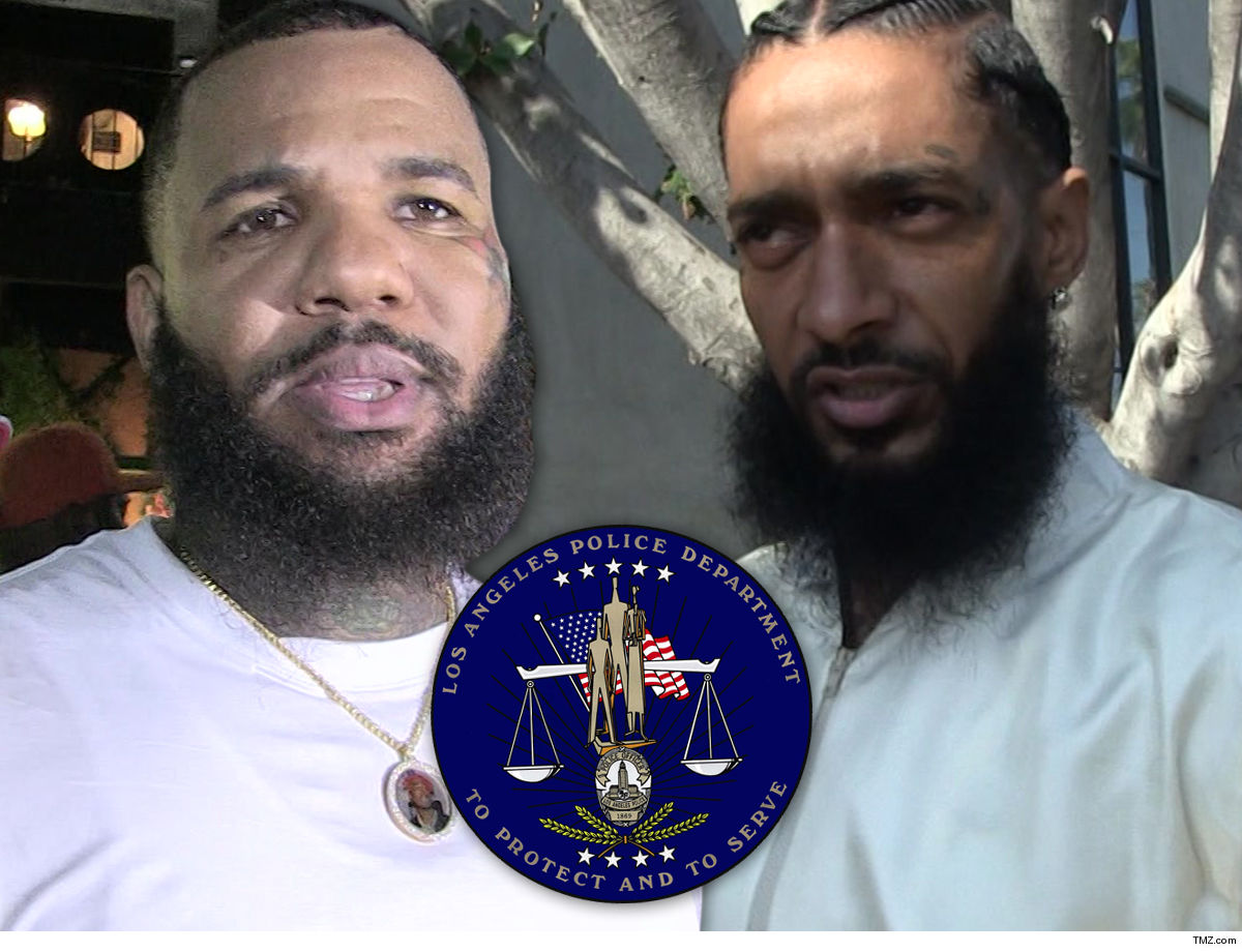 The Game Accuses LAPD of Insulting Nipsey's Family at Funeral Cops Say It's Not Them on Radio Frequency