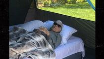Kirk Douglas Goes Camping at 102!
