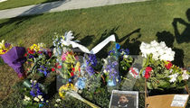 Nipsey Hussle's Hollywood Hills Gravesite Flooded with Flowers