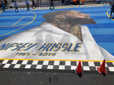 Nipsey Hussle Memorial Basketball Court Gets a Ribbon Cutting