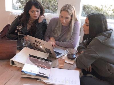 Kim Kardashian Studying Hard for Bar Exam, Responds to Haters