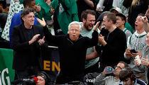 Robert Kraft Front and Center for Celtics Game, I Ain't Hiding!
