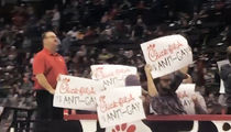 Pro Hockey Game Hijacked By Zamboni-Riding Chick-fil-A Protesters