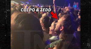 Zedd, Olivia Culpo Got Very Flirty During the First Weekend at Coachella
