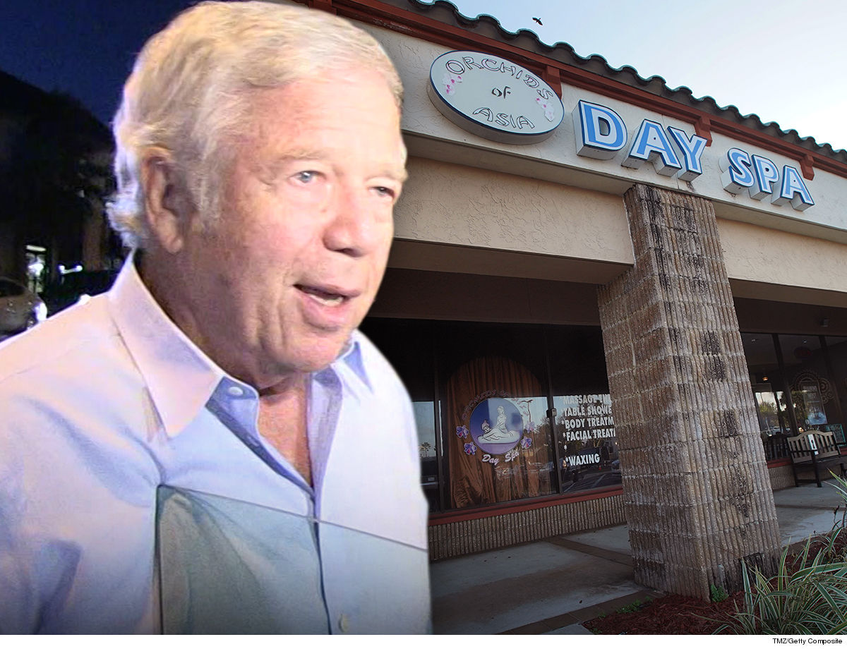 Robert Kraft Masseuses Claim Cops Leaked Naked Spa Video