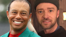 Justin Timberlake Bonded with Tiger Woods Over Parenting While Famous