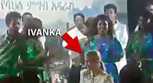 Ivanka Trump Busts Out Dance Moves in Ethiopia