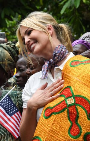 Ivanka Trump Visits Africa