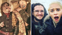 'Game Of Thrones' -- Behind The Scenes Photos!