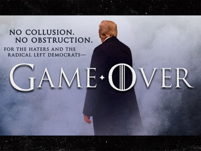 President Trump Goes All 'Game of Thrones' Over Mueller Report, HBO Responds