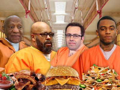 Celeb Prisoners' Easter Sunday Dinners Revealed