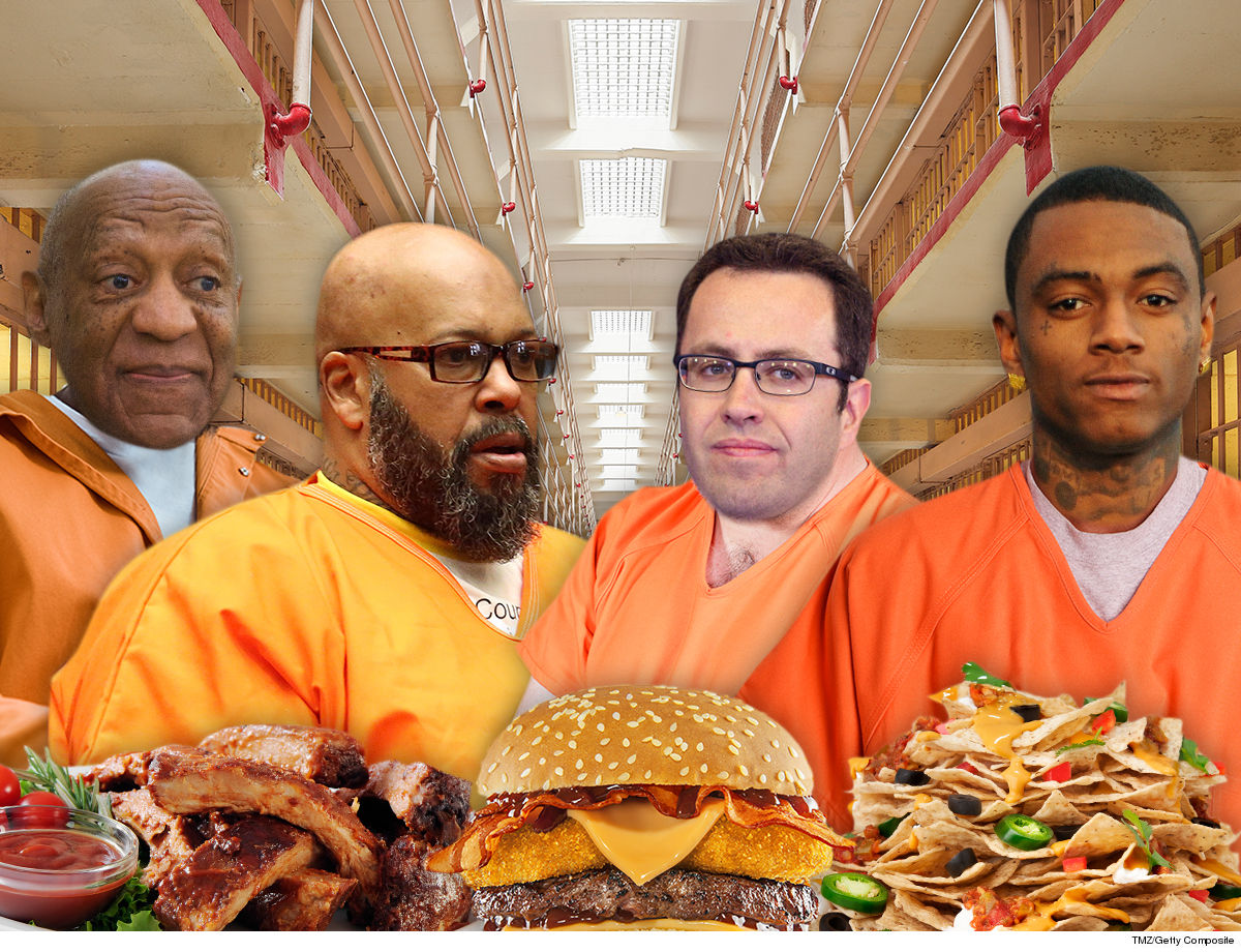 Soulja, Fogle, Cosby & Suge Easter Dinner Prison Meals ... No Chocolate Bunny Zone!!!
