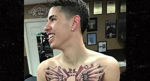LaMelo Ball Gets Massive Chest Tattoo