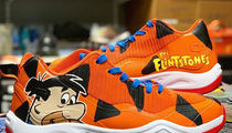 NBA's Langston Galloway Gets Fred Flintstone Shoes For Playoff Game
