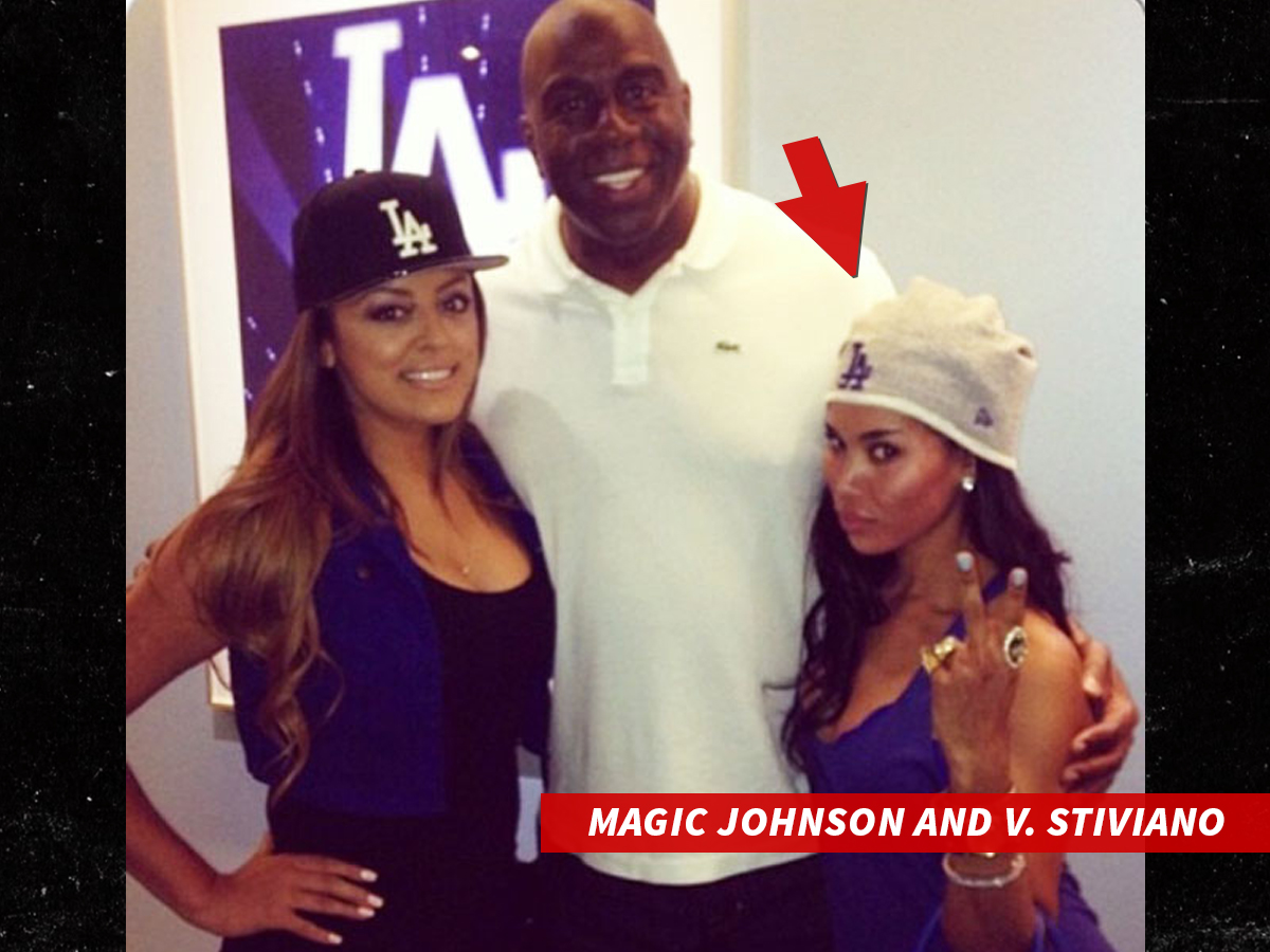 Donald Sterling Weighs In On Clippers ... And Magic Johnson