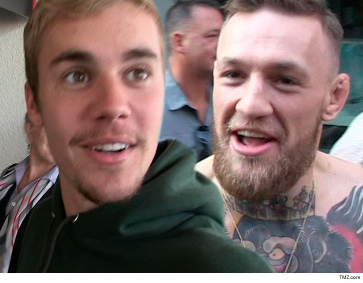 Justin Bieber 60% Irish & Conor McGregor Loves It!!