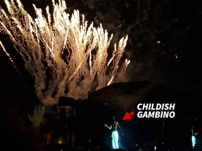 Childish Gambino Fires Off Brand New Show for Weekend 2 at Coachella