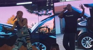 Will Smith Performs with Jaden and Willow Smith at Coachella
