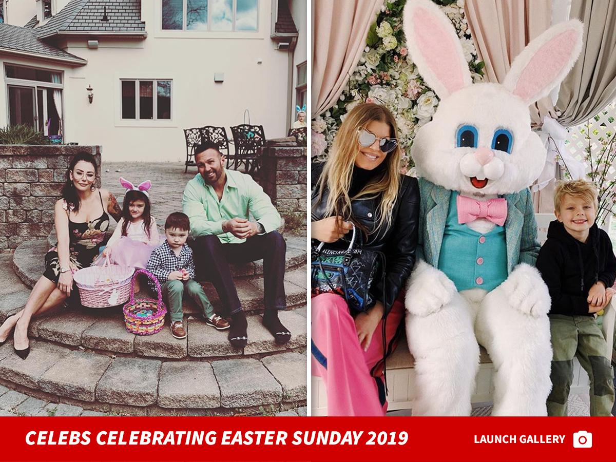 John Legend Hoppy Easter ... Goes Full Bunny Mode!!!