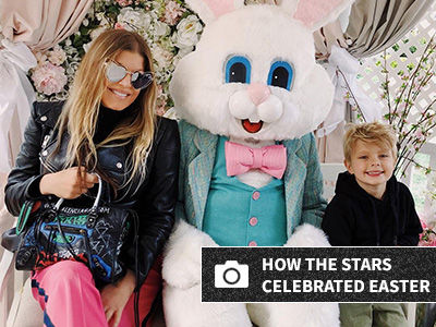 Babies, Bunnies & Baskets -- How the Stars Are Celebrating Easter