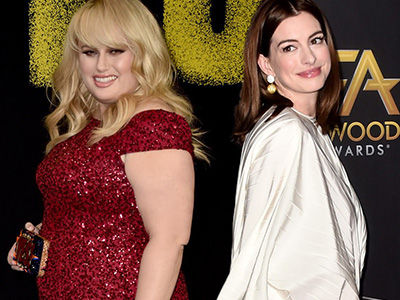 Why Rebel Wilson Called Anne Hathaway an 'Animitronic C--k Tease'