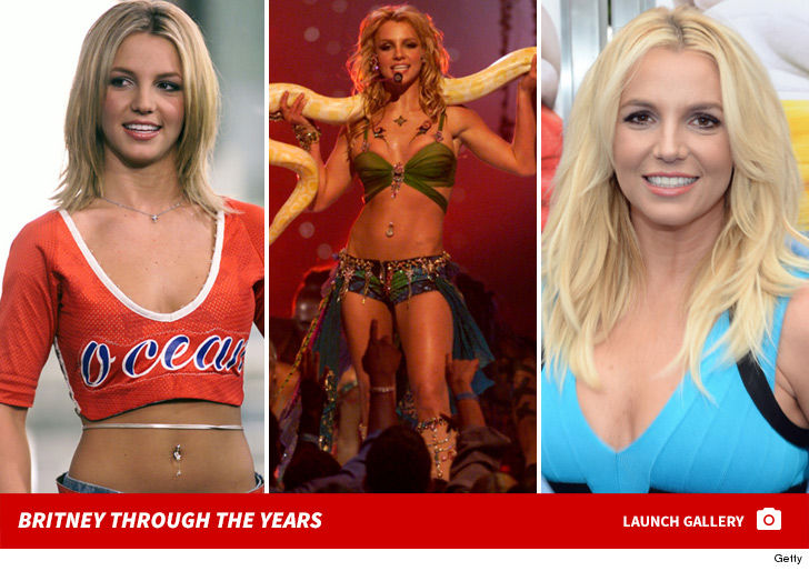 EL LAMENTABLE ESTADO DE BRITNEY SPEARS