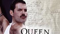 Freddie Mercury's Handwritten Set List from 1978 Concert for Sale