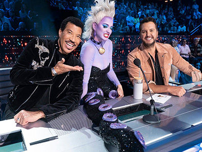 Katy Perry Channels Ursula as 'American Idol's' Disney Night Sends Two More Home