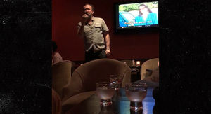 Nicolas Cage Angrily Sings 'Purple Rain' at Karaoke Bar After Filing Annulment
